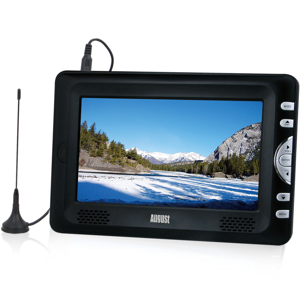 7 Inch Digital TV Recorder & Media Player with Built-in Battery