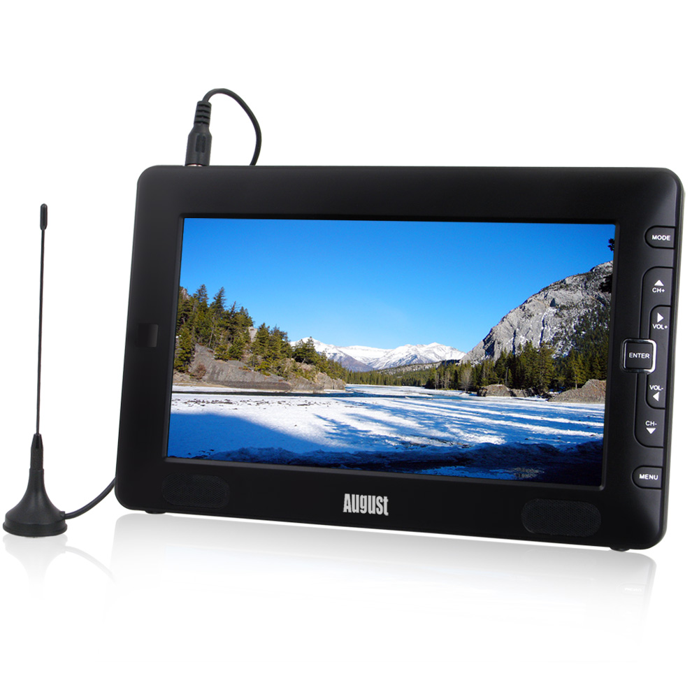 9 Inch Digital TV Recorder & Media Player with Built-in Battery