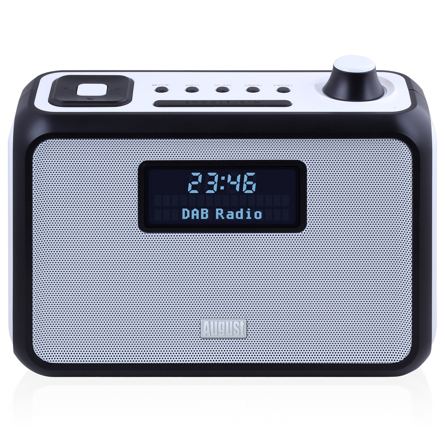 DAB Radio with Bluetooth Speaker - Black