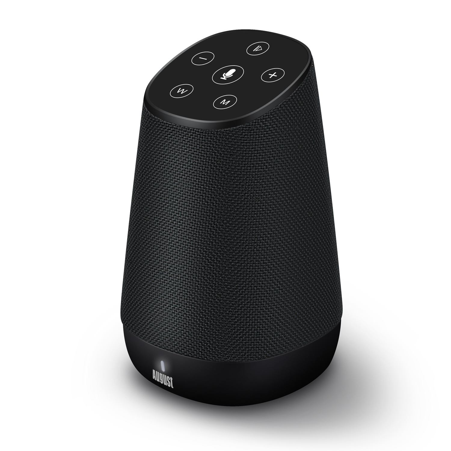Altavoz Estéreo Multiroom WiFi - August VENUS - Servicio Amazon Alexa Voz Inteligente - Altavoces Bluetooth y Wi-Fi - Airplay / Spotify / Tidal / Tune In / Radio iHeart / Compatible DLNA