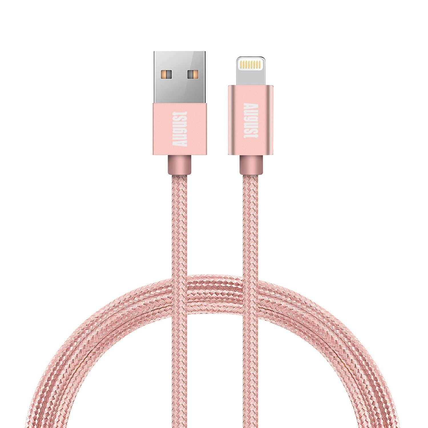 Cable Lightning de Apple - Rosa