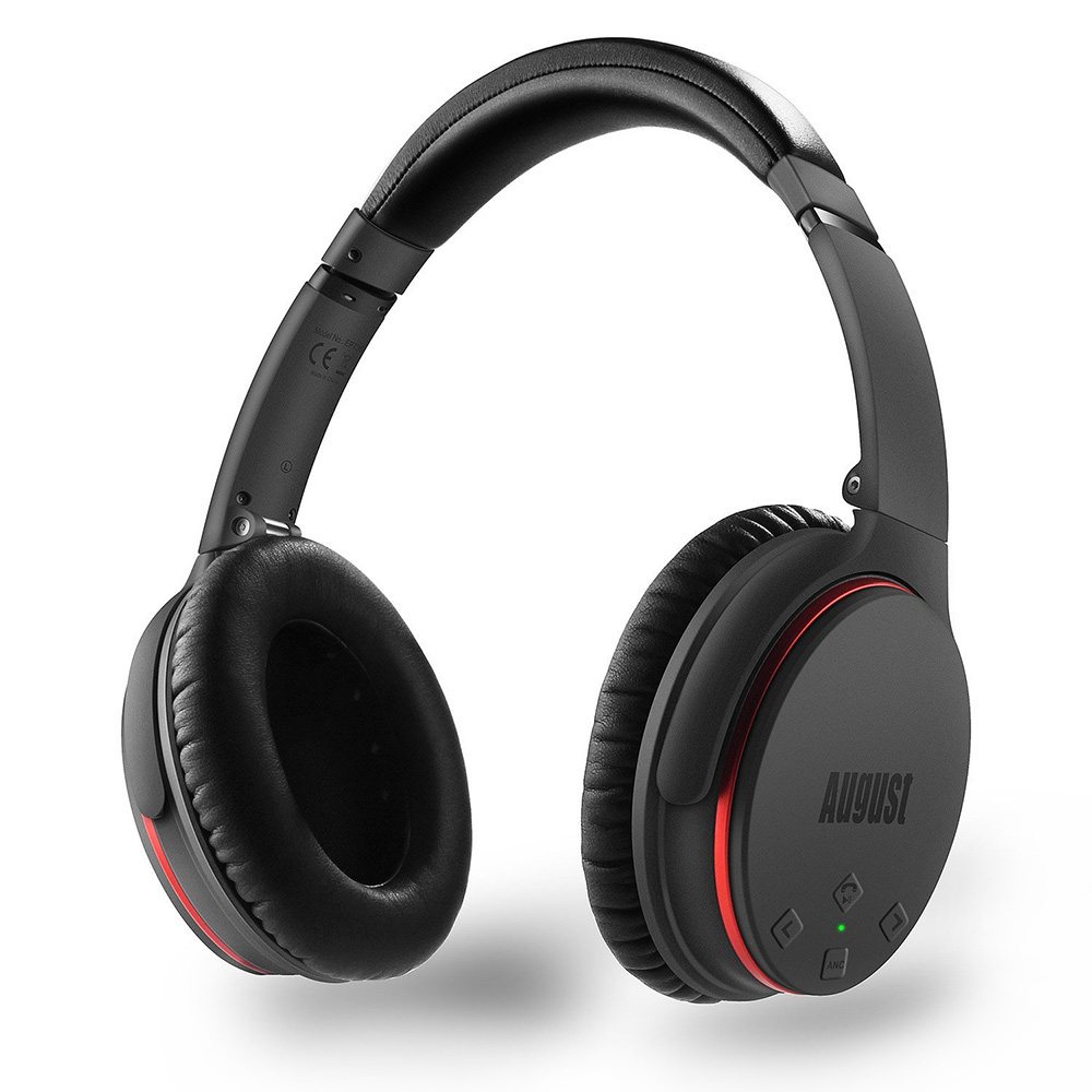 Active Noise Cancelling Bluetooth Headphones with ANC